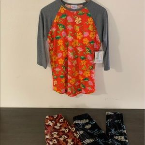 LulaRoe Randy Tee & leggings